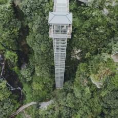 别去张家界了!160米华东最高观光电梯?...看一眼就哆嗦!