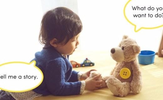 能让玩具说话的智能纽扣,给孩子带来乐趣和陪伴