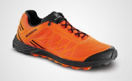 Vibram大底越野跑鞋,轻量设计,短途竞速专用!