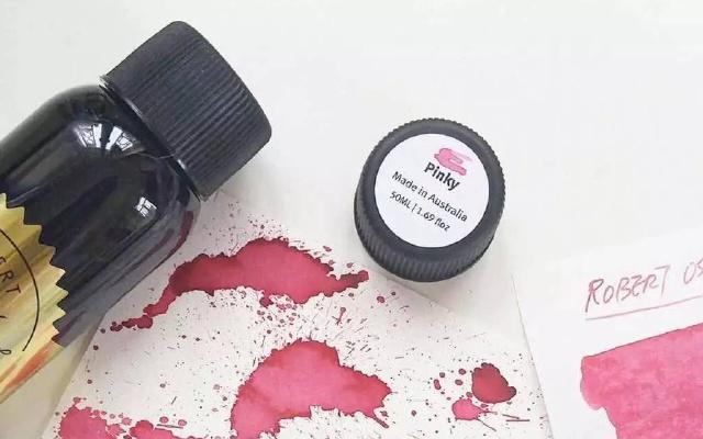 彩墨丨强迫症福音之ROS墨水全系列70色试色