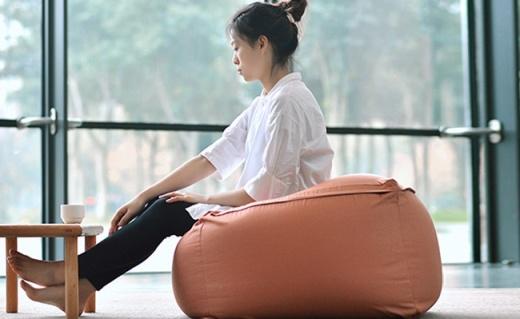 网易严选懒人沙发:精选莱卡纯棉面料,日式和风简洁实用