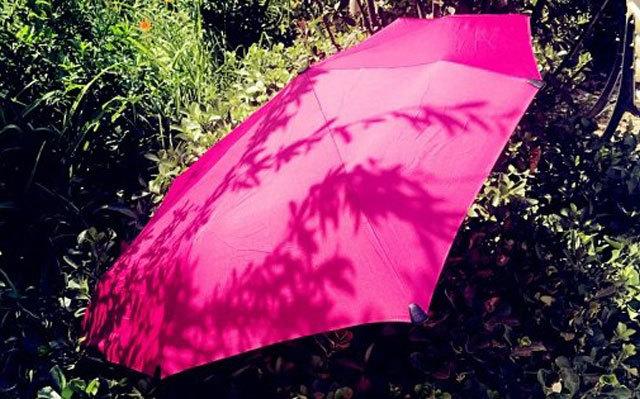 不对称设计的晴雨两用伞,防雨防晒也能抗10级台风