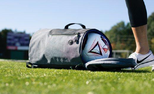 有四种玩法的帆布包,旅行运动两相宜