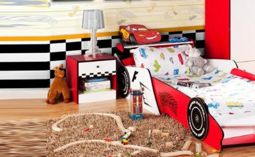 Homestar床头柜:黑白格美观耐看,环保材质结实耐用