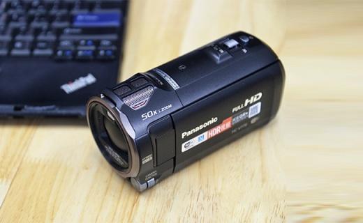 松下HC-V770GK摄像机:HDR全高清视频录制,20倍光学变焦