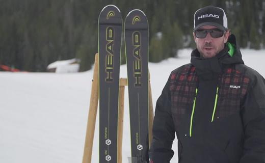 HEAD Monster 108滑雪板:石墨烯三層結構板材,平穩緩震易上手