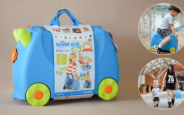 儿童专属行李箱,辣妈带娃出行的颜值利器   视频
