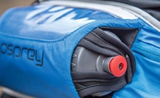 左撇子福利,透气舒适的Osprey腰包还自带水壶