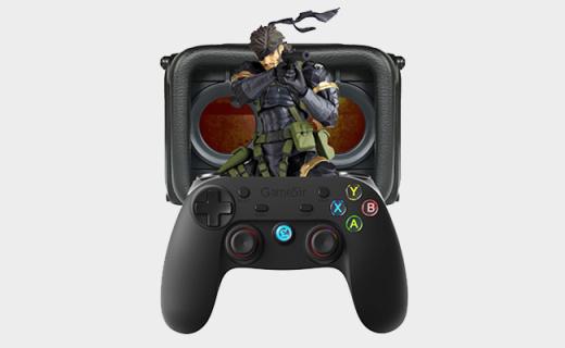 小鸡VR游戏套装:苹果安卓全兼容,包含增强游戏手柄