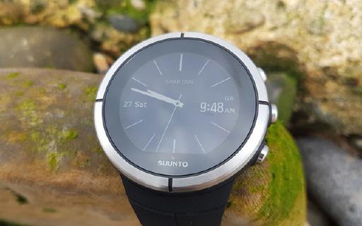颂拓Spartan Ultra户外手表:精钢白色外观,80余种模式游泳不用摘
