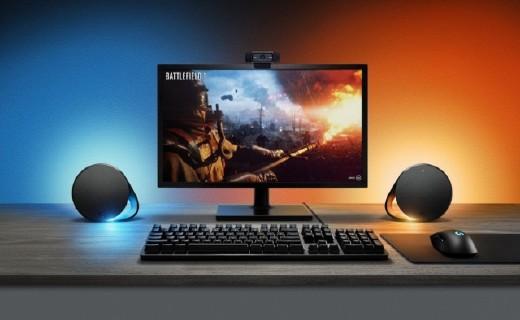 罗技推出G560音箱,RGB炫彩灯效玩游戏更过瘾