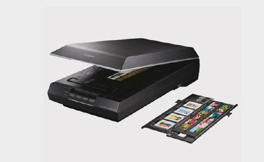 爱普生V600扫描仪:一秒扫描,超高分辨率