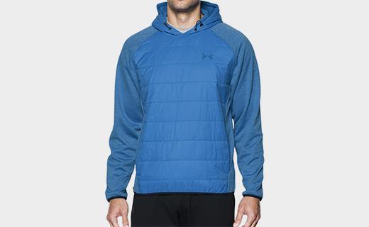 安德玛Storm Swacket卫衣:防水保暖又柔软,轻量无负担