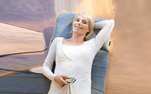 MEDISANA多功能按摩靠垫:低频振动按摩,枕垫一体设计