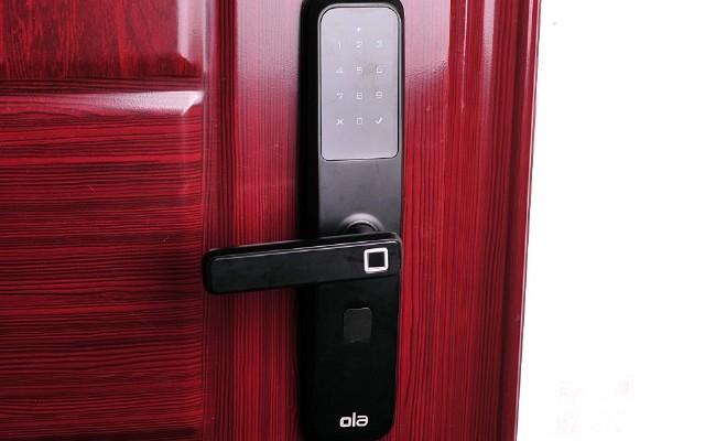 给爸妈安了一个Ola Plus微信指纹锁,出门回家更方便