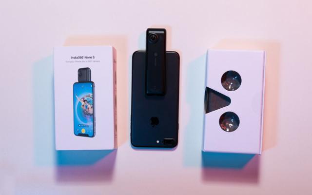 一个可以让iPhone打全景电话的神奇VR摄像头 — Insta360 Nano S全景相机体验