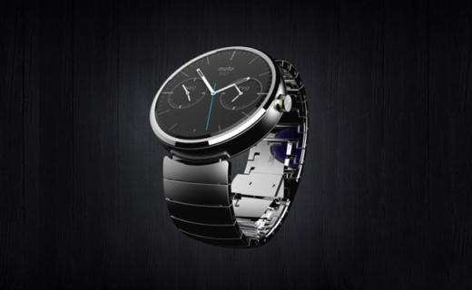 摩托罗拉Moto 360智能手表:语音动作识别,多功能感受科技生活