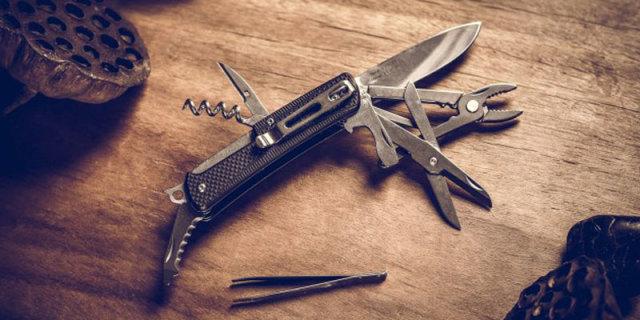 敢与瑞士军刀比拼的国货精品,三刃木 W741-A1多功能折刀