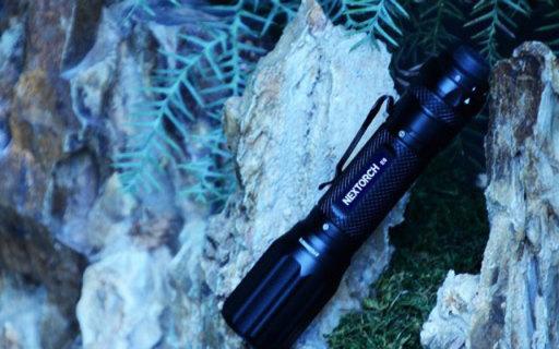 按压开关磁环调光,居家户外优良照明工具,Nextorch纳丽德E6手电测评
