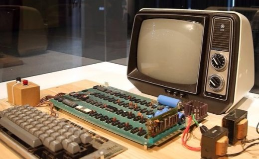 苹果初代Apple-1将拍卖:42年历史机器,无故障运行8小时