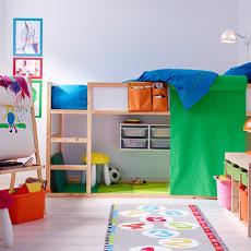 宜家(IKEA) 库拉 两用儿童床