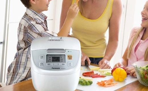 松下变频IH电饭煲:四段变频火力,电磁加热煮饭更香