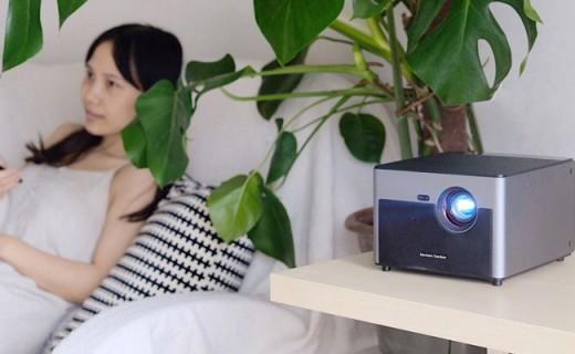超智能立体影院,宝宝万能早教机——极米无屏电视H2 Slim