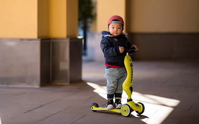 COOGHI儿童滑板车,开启孩子的另一片世界