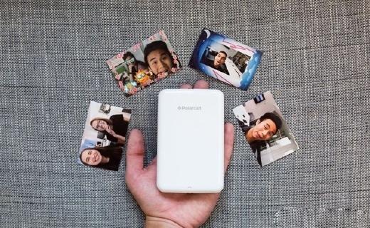 宝丽来Zip口袋打印机:第二代微晶成像技术,照片持久鲜艳不变色