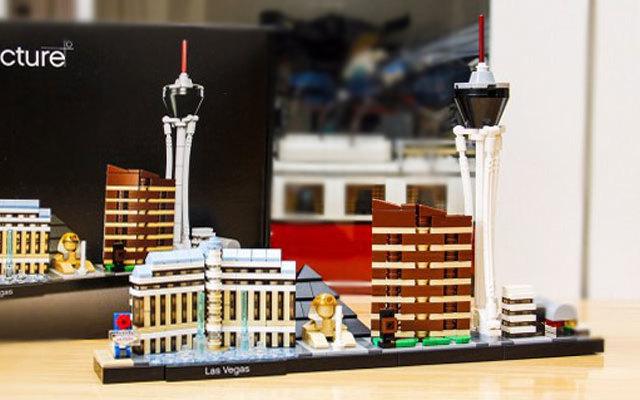 結構巧妙造型酷,拼搭簡單易組裝,樂高建筑系列拉斯維加斯評測