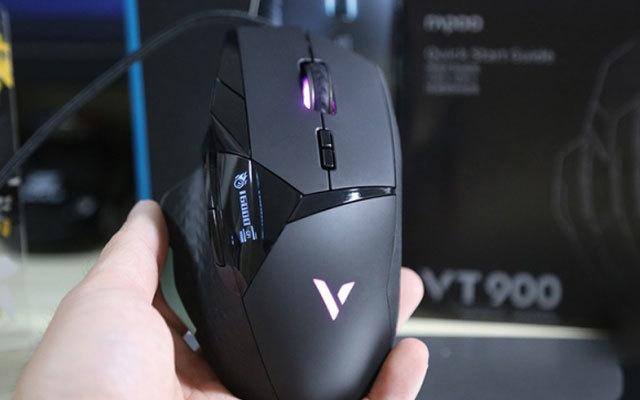 反应敏捷 指哪打哪 ,雷柏VT900专业游戏鼠标体验