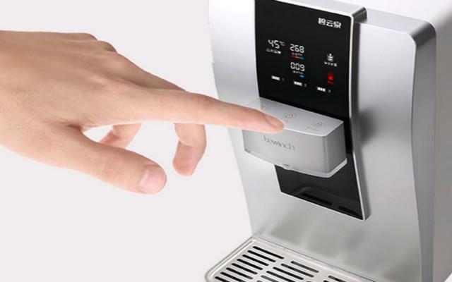 碧云泉免安裝智能凈水機,讓水溫多選擇,讓全家喝出健康體質