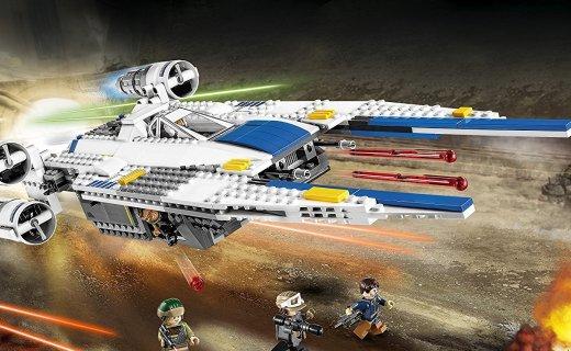 乐高星球大战U翼战斗机:高还原星战载具,超值价格不要错过