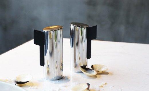 ORO Living调料罐:小巧精致实用,304不锈钢镜面抛光工艺