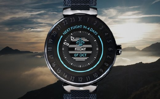 LV推新智能手表,搭Wear 3100处理器,续航5天!