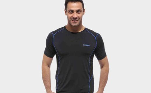 Scaler户外男士T恤:透气网布拼接,清爽透气运动必备