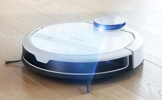 激光建图记忆清扫,科沃斯导航规划机器人