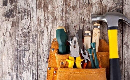 力易得家庭工具套装:30件不同工具,材质坚固还好用