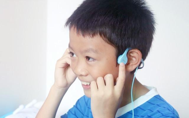 保护听力的更佳选择,让孩子一生受用,唯动Q1骨传导耳机体验