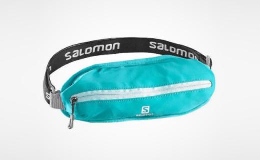 萨洛蒙运动腰包:透气3D弹力网布,灵活小巧为运动而生