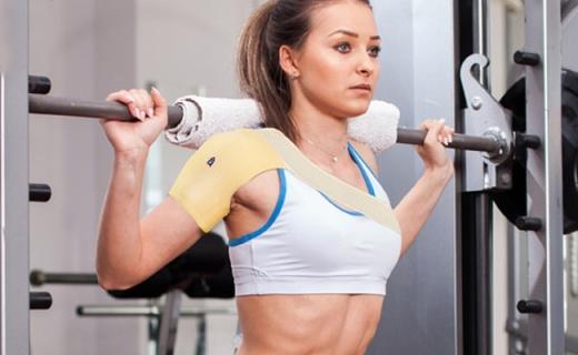 AQ运动护肩带:缓解肩部不适增强发力,撸铁必备