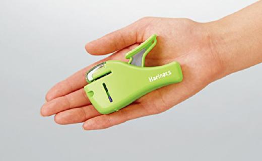 国誉Harinacs Alpha订书机:不用针也能装订,收纳携带更方便
