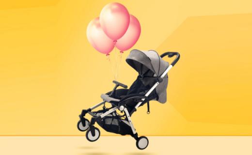 Safety 1st婴儿推车:单手一键折叠,轻便易携宝宝也舒适