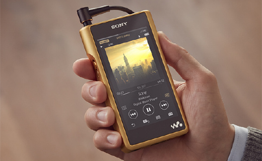 索尼全新旗舰Walkman,镀金机身,更强推力