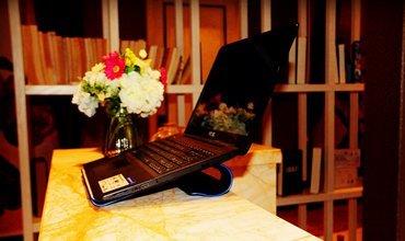 带来清凉撑起舒适,紫麦笔记本散热支架体验