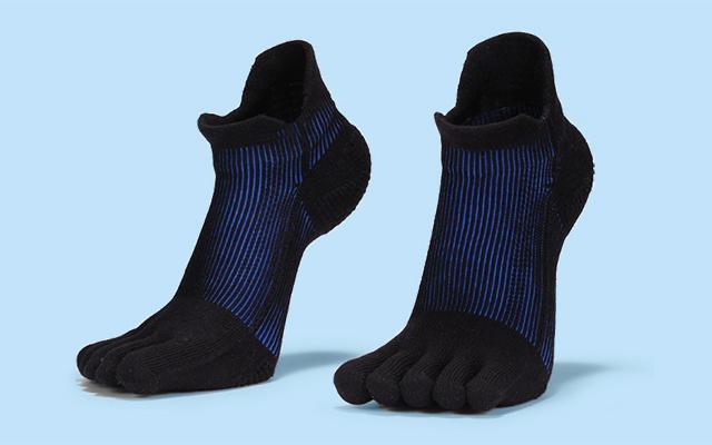 爱燃烧跑步压力五指袜