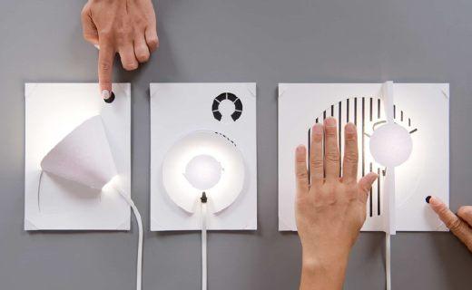 利用油漆导电的神奇纸灯,全套DIY工具发布