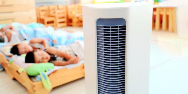 送风距离远,高效净化室内空气,亖空无耗材空气消毒净化器体验