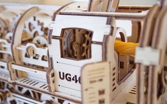 UGears木质蒸汽火车模型