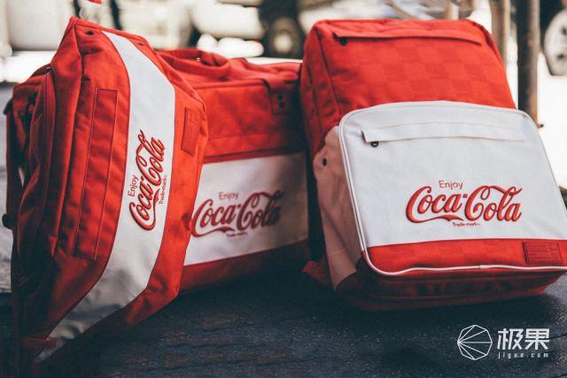 比LV联名还要火,Coca-Cola携手HEX推出合作款背包